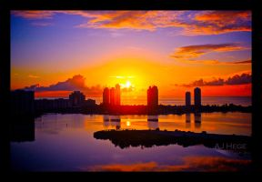 Miami Sunrise - Revisited by AJHege