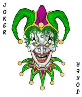 Joker Card by JesseAllshouse