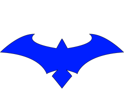 new 52 Nightwing Blue Clear by CrossedRunner