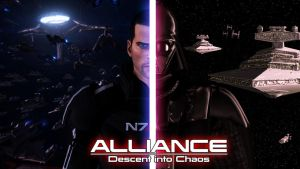 Alliance: Descent into Chaos - Two Galaxies At War by Archangel470