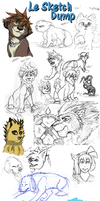 Sketch Dump August - October 2012 by Quiell