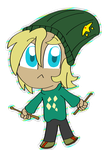 [Trade} Lorcan Chibi by SparkMaster37