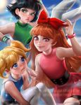Powerpuff girls by sakimichan