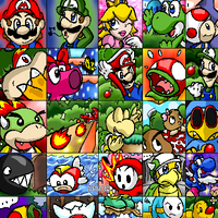 Random Mario Page by G-Bomber