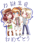 Twewy Bday by Tacotits