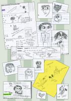 Doodle Collection B by Darianella