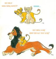 Lion King Questions by wahyawolf