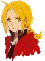 Edward Elric by kimonogo