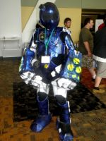 Otakon 2011 - Only Toonami by mugiwaraJM
