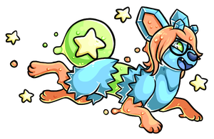 Slimy stars by Touque