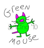 Green Mouse by saramations
