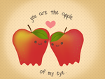 Apple of my eye xoxo by socialrunaway7