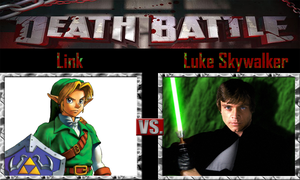 Link vs Luke Skywalker by SonicPal