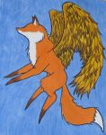 Your Guardian Fox: Front by StrawberryDacri