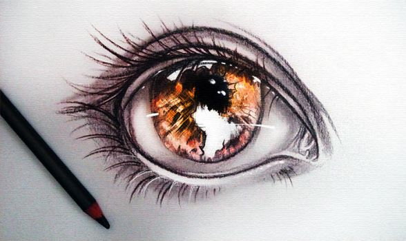 I see world in the fire by ryky