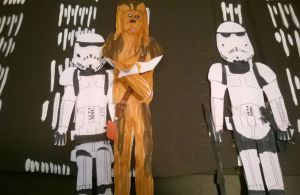 Wookiee prisoner by movieman410