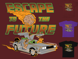 Escape To The Future by MitchLudwig
