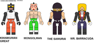 Kinnikuman Minimates Disguises by Lee-At-Arms