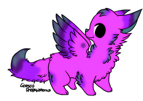 Winged Foxy Name your Price CLOSED by AdoptableSoulxHeart