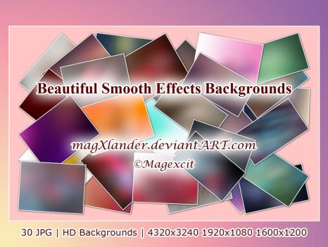 Beautiful Smooth Effects Bckgs by magXlander