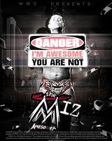 The Miz Mini Poster by SoulRiderGFX