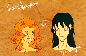 Persephone and Hades :D