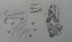 Ratchet's reaction to Lucy's cybertronian form pg3 by Lil-9