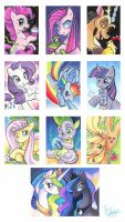 Pony Friendship Cards by Tigsie