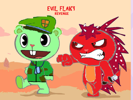 Evil flaky by luiskill1998