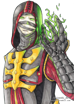 Ermac, The Master of Souls by CiLundi