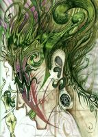 Green Medusa by jon13377