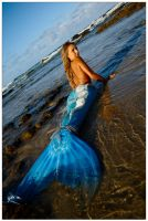 Mermaid in shallows 1 by wildplaces
