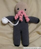 Doctor Who - An Ood by berlynnwohl