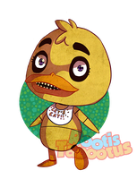 Five Nights at Crossing Chica by RootisTabootus