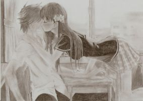 Anime Kiss by lawilet1992