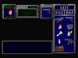 RE3 Item Screen by wolfwarrior001