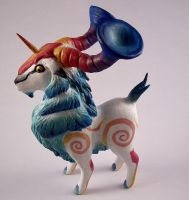 Yoggy Ram Sculpture by SophieXSmith