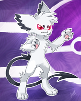 Fake Flurrhi Pokemon or Digimon? by VengefulSpirits