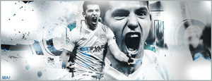 Aguero  Manchester City by MarcoGambino