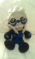 Garrus Plushie, Now with facepaint! by Belle43
