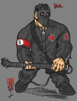 Paul Gray on Stage by TheNik6SiC6