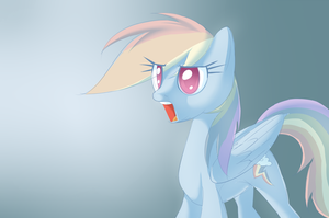Rainbow Dash Lighting and Shading Practice by Petalierre
