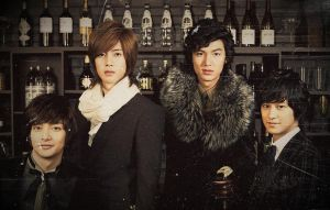 Boys Over Flowers F4 Wallpaper by xTHExFUNNNX