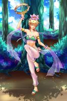 Dancing girl Gato by LoRd-TaR