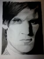 Matt Smith - Charcoal by WoodsieWood