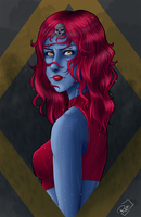 Mystique Bust by AerianR