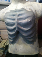 Emaciated Chest Sculpt by PlaceboFX