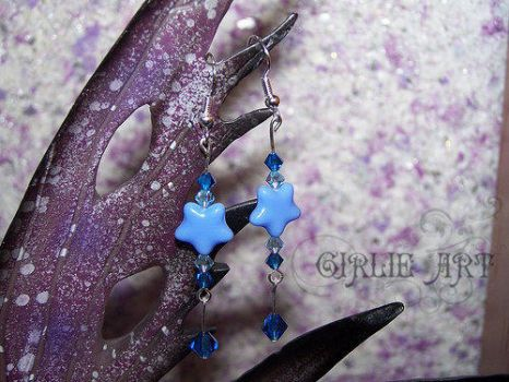 Sky earrings by Girlie-Art