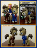 Funko Custom: Doctor Whooves by HeyLookASign