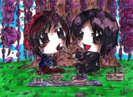 Shinpei and Masato by elrickousuke54